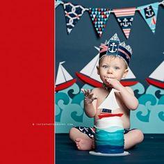 Smash Cake photoshoot | #BabyCenterBlog
