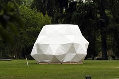 Kengo Kuma Designs a Temporary Pop-Up Shelter from Umbrellas | Inhabitat - Sustainable Design Innovation, Eco Architecture, Green Building