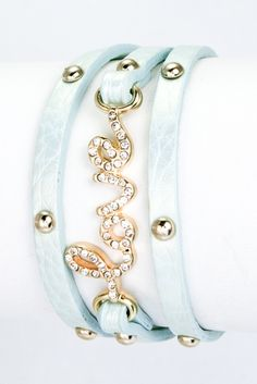 Crystal Love Bracelet
