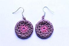 mataza mataza on Etsy Etsy Seller, Crochet Earrings, Unique, Creative, Earrings, Hand Made, Crocheting