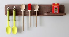 Peg Board Wall Organizer