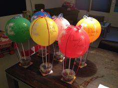 Luchtballon-traktatie Daantje 3 jaar