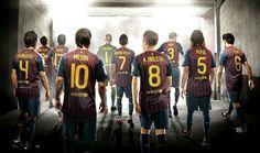 Fc Barcelona 2012 football team