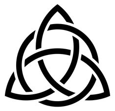 File:Triquetra-circle-interlaced-black.svg