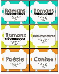 Organiser et faire vivre sa bibliothèque: étiquettes de classement, défi lecture, déco...