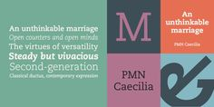 PMN Caecilia® - Webfont & Desktop font « MyFonts