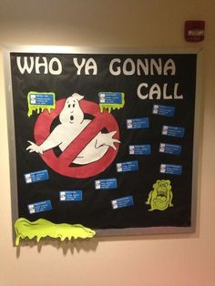 This could be a great fall, Halloween, or spooky bulletin board for the classroom!