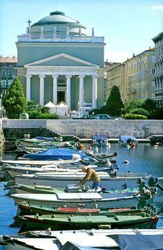 San Antonio Church ~ Harbor of Trieste, Italy