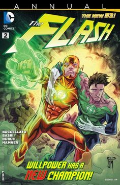 """""""Barry Allen of Earth. You have the ability to outrun great fear."""" -- Green Lantern Power Ring - Comic - The Flash Annual Artwork by Heros Comics, Dc Comics Characters, Dc Heroes, Comic Book Heroes, Comic Books Art, Comic Art, Comic Superheroes, Nightwing, Batwoman"""