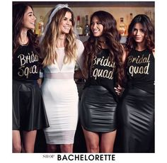 Image result for different bachelorette party matching