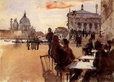 John Singer Sargent Café