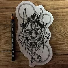 Sketch available #hannya #hannyatattoo #hannyamask #japaneseirezumi #tattoo #darkartists #tattoolife #inked #tattoocollective #tattooitalia #neotradtattoo #neotraditional #neotrad #neotraditionaltattooers #tat #tatted #traditional #linework #dotwork #blackworkerssubmission #onlyblackart #blacktattooart #btattooing #blackboldsociety #italian_blackworkers #newtraditaly Evil Skull Tattoo, Demon Tattoo, Arm Tattoo, Tattoo Sketches, Tattoo Drawings, Body Art Tattoos, Sweet Tattoos, Black Tattoos, Tattoo Chart