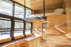 The Atlas: a luxury tiny house on wheels measuring just 196 square feet. Currently retailing for $75,000.