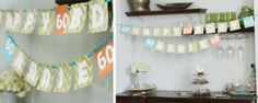 DIY Party banners