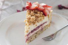 .Rezept: Streuselkuchen mit Erdbeeren