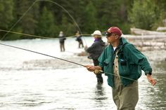 Man Fly Fishing Click Here for more information http://www.flyfilmfest.com/host