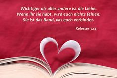 Liebe Bibelspruch