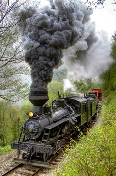 Ferrocarril de Cass en Virginia Occidental