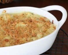 Creamy Cauliflower Casserole with Green Onions: Cauliflower Casserole