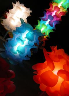 Ciclada by miGUEL HERRANZ for Manufacturas Celda - 2000 #light #colour #orderedchaos #design