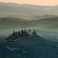 The Val D'Orcia Is quite possibly the most beautiful area of Tuscany