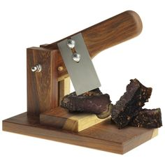 All South African Biltong cutter Sturdy Wooden Base Wooden Handle Stainless Steel Cutting Blade Biltong, Client Gifts, Gadget Gifts, Kitchen Items, Wooden Handles, Corporate Gifts, Creative Gifts, Wood Projects, Gift Wrapping