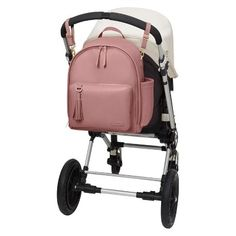 Skip Hop Greenwich Simply Chic Diaper Backpack - Dusty Rose (Pink)