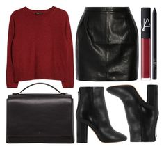 street style by sisaez on Polyvore featuring MANGO, BLK DNM, Isabel Marant, The Row and NARS Cosmetics