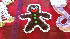 Gingerbread man decoration have a few done in dark brown and light brown $9.95 Cameron Ontario
