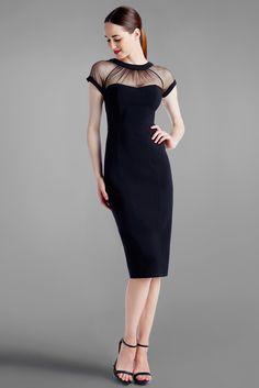 the illusion dress   maggie london