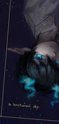 Rin Okumura<<idk why kinda reminds me of an alien, but i love it, its so prettyyy