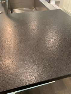 a maybe - leather granite kitchen countertops Granite Kitchen, Kitchen Countertops, Laundry Room Design, Kitchen Design, Leather Granite, Kitchen Remodel, House, Black Granite, Project Ideas