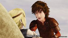 Hiccup and Astrid ❤️