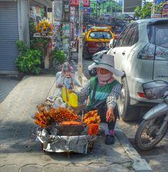 Street food, Chaweng, Koh Samui #Thailand #streetfood