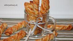 Pizza tyčinky Pizza, Onion Rings, Apple Pie, Shrimp, Snacks, Baking, Breakfast, Tableware, Ethnic Recipes