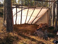 lean-to-shelter
