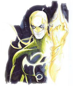 Iron Fist Colored Sketch