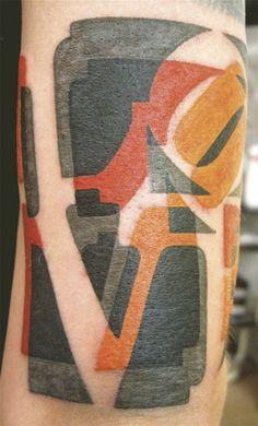 Tattoo by Jean-François Palumbo at Boucherie Moderne in Belgium