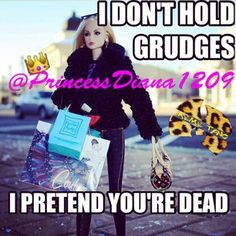 TheMemeQueenMemeTangClan〽️ @princessdiana1209 Holding a grudge ...Instagram photo | Websta (Webstagram)