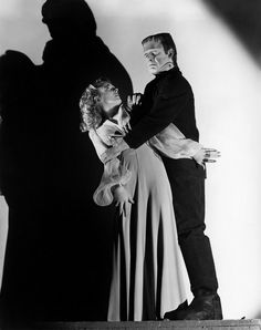 Lon Chaney Jr. & Evelyn Ankers in The Ghost of Frankenstein, directed by Erle C. Kenton, 1942.