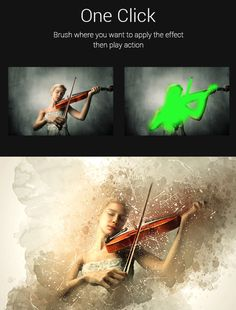 Vintater - #Amazing Vintage And Watercolor #Photoshop #Action