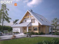 Tradycyjny projekt z poddaszem - Sopran 6. Pełna prezentacja projektu dostępna jest na stronie: https://www.domywstylu.pl/projekt-domu-sopran_6.php. #domywstylu #mtmstyl #projekty #projektydomów #projektydomow #projektygotowe #dom #domy #projekt #budowadomu #design #newdesign #home #houses #architektura #architecture