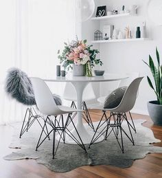 Don't forget to give us a follow on Pinterest for an insight to our new ideas and what we are sourcing. This gorgeous photo is showing off our @Nor_folk perpetual calendar £25 Hides and Sheepskins such as this Icelandic sheepskin and white hide is also available instore. We offer creative sourcing and are shortly launching interior design workshops so if you have something in mind you want to create just talk to one of our team instore and we will help you turn that dream into your home! 📷…