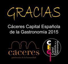 vía Facebook Cáceres Capital Gastronómica 2015