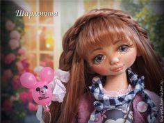 Купить Шарлотта, текстильная кукла в интернет магазине на Ярмарке Мастеров