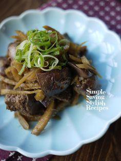 スタミナ補給!栄養たっぷり♪鶏レバーの生姜煮 by SHIMA | レシピ ...