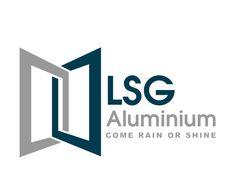LSG Aluminium logo design UK