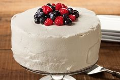 Make-Ahead Whipped Cream. I love whipped cream on cakes, and this recipe claims it won't get runny and will continue to be stabilized for up to 3 days in the fridge...