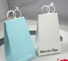 cajas de dulces para ofrecer en el matrimonio