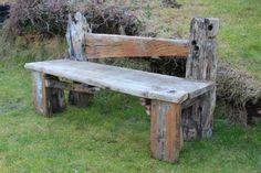 Driftwood Garden Bench, Drift Wood garden seat, Drift Wood Garden Bench  £320.00